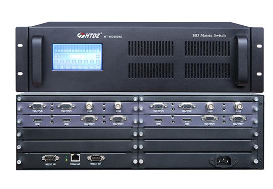 HT-HD0808S 高清无缝混合矩阵